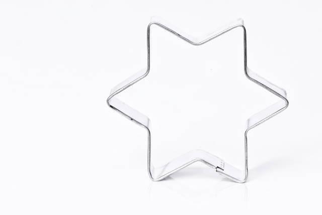 Plätzchen Ausstechform Stern