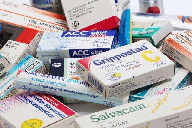 verpackte Medikamente