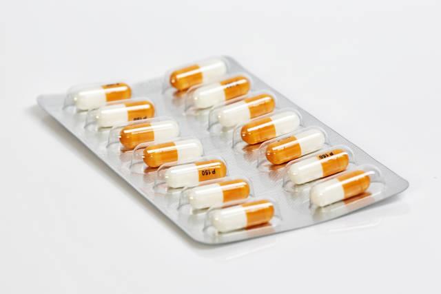 Pillen im Blister