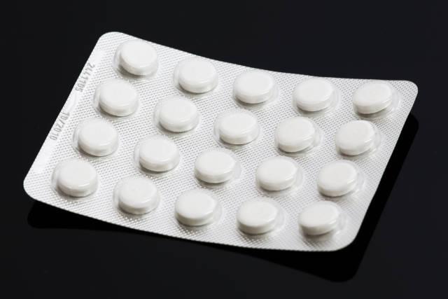 Tabletten im Blister