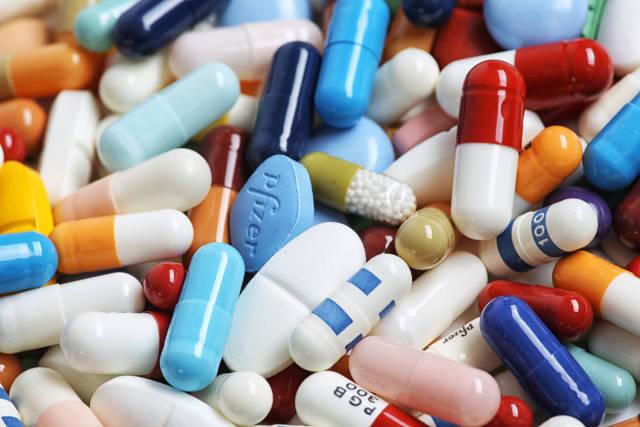 Tabletten und Drogen