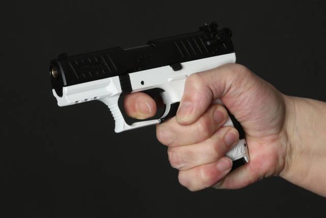 Verteidigung mit einer Pistole