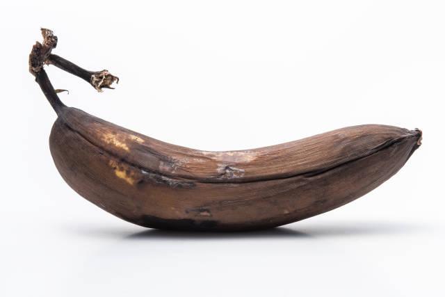 Banane überreif