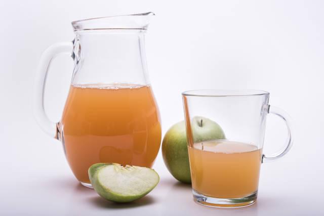 natur trüber Apfelsaft