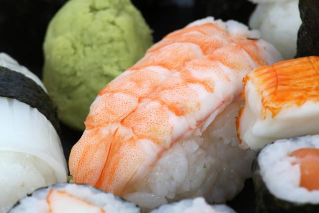 Sushi und Wasabi