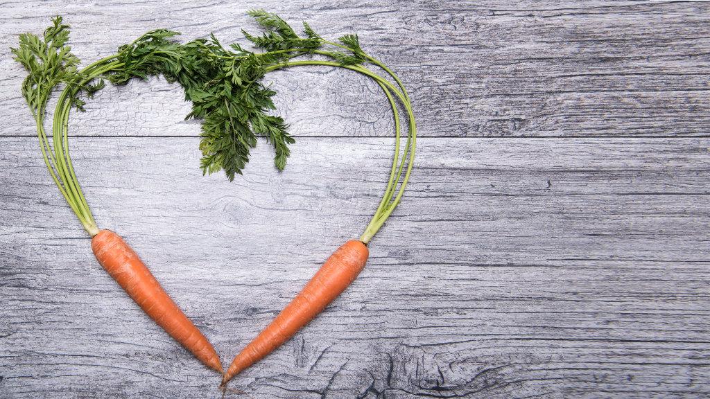ein Herz für Veganer