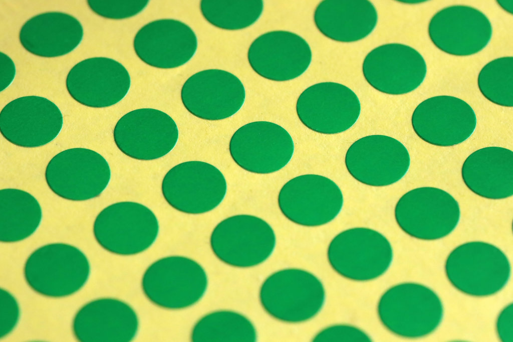Grüne Punkte