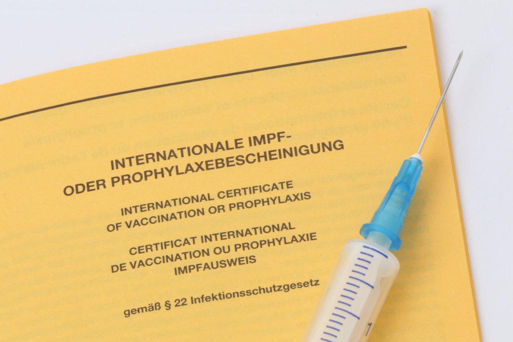 Internationale Impfbescheinigung