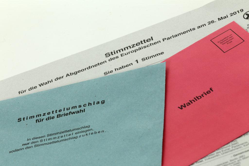 Unterlagen zur Briefwahl