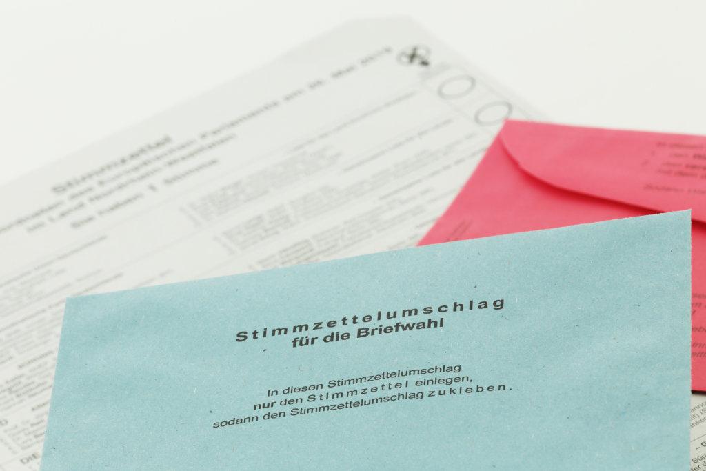 Stimmzettelumschlag