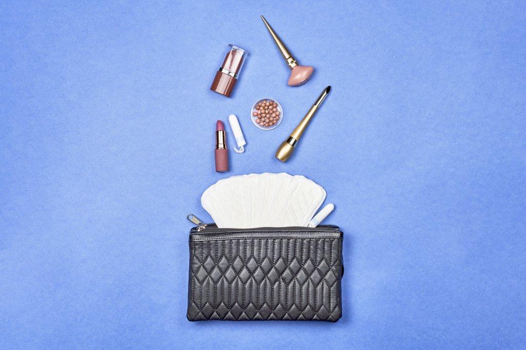 Handtasche einer Frau