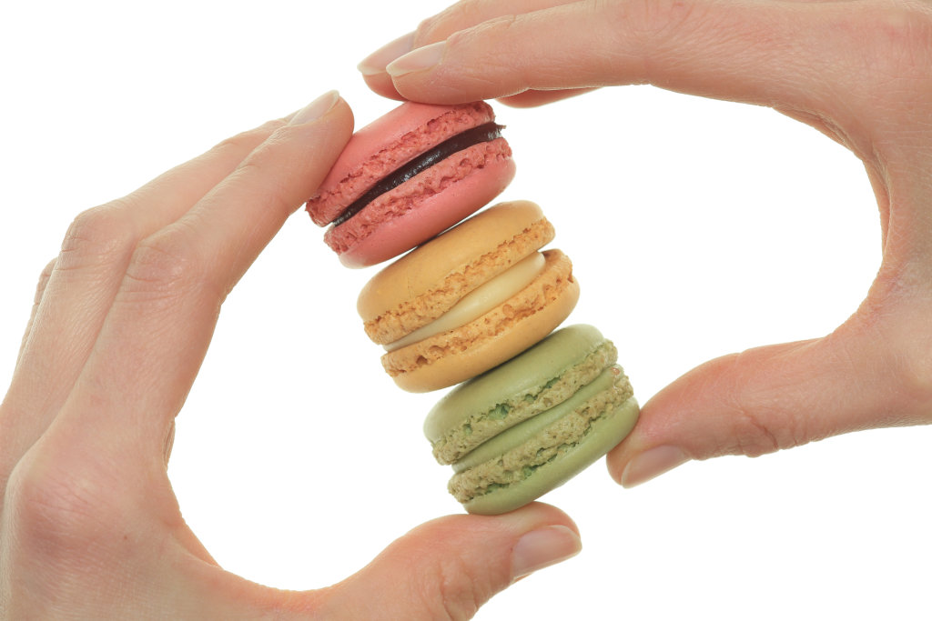 Macarons in Hand