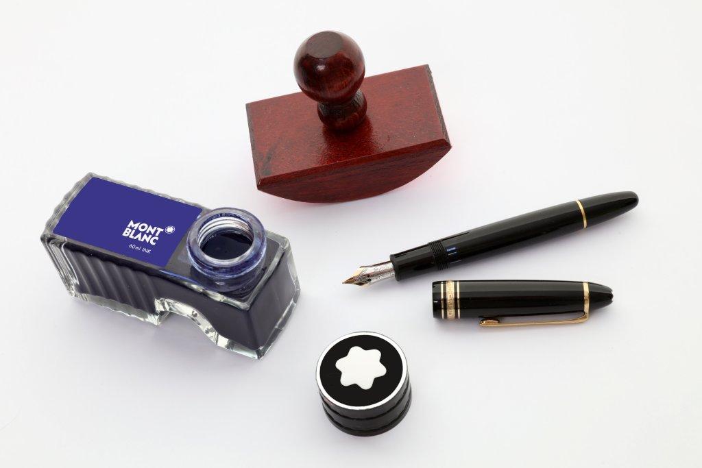 Mit Füller und Tinte schreiben