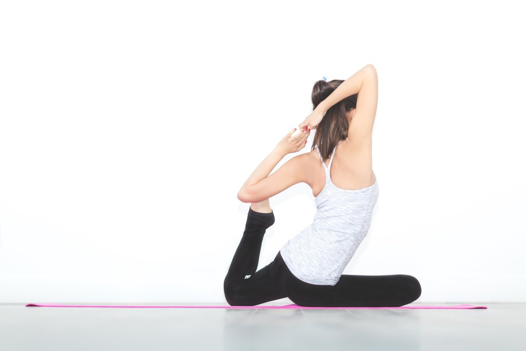 Yoga - King Pigeon Pose