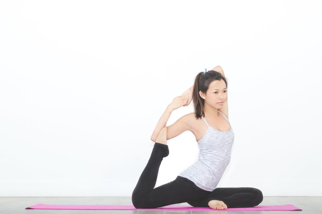 Yoga - Mermaid Pose