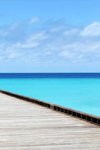 Steg am Meer
