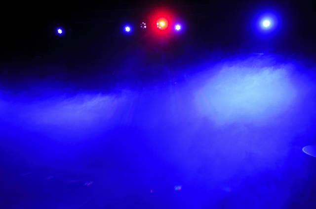 Nebel Blau