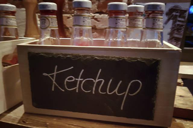 Ketchup Kiste