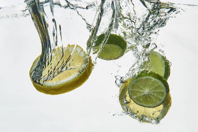 Zitrone und Limone