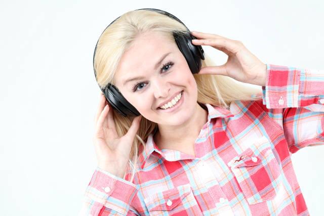 Kopfhörer Portrait