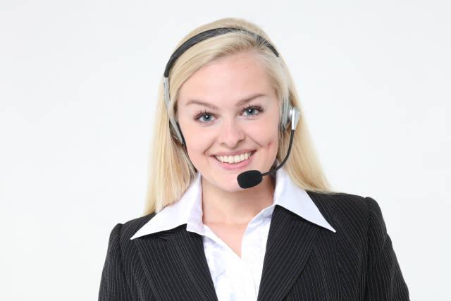 Call-Center Agentin