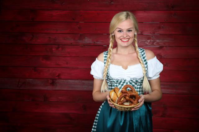 Oktoberfest Brezel