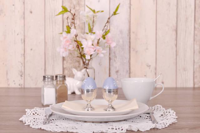 Kaffeegedeck zu Ostern