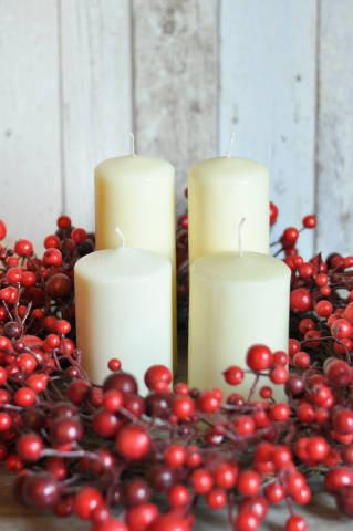 Kerzen weihnachtlich