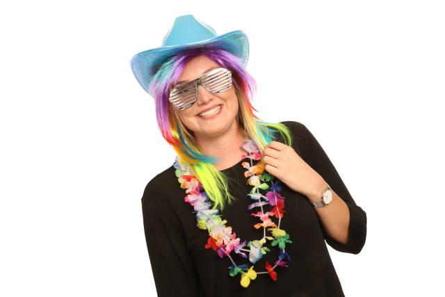 Party-Frau