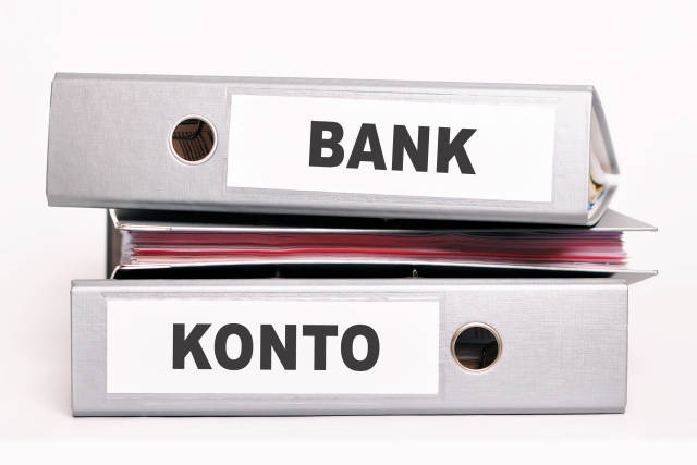 Aktenordner Bank Konto