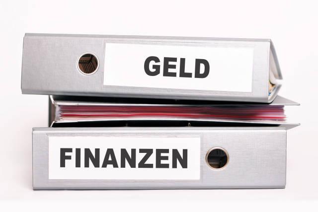 Aktenordner Geld Finanzen