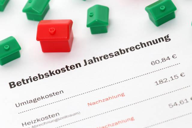 Betriebskosten Jahresabrechnung