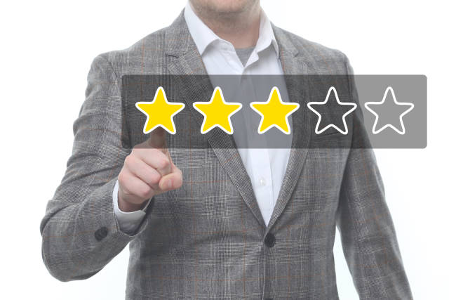 3-Sterne-Bewertung