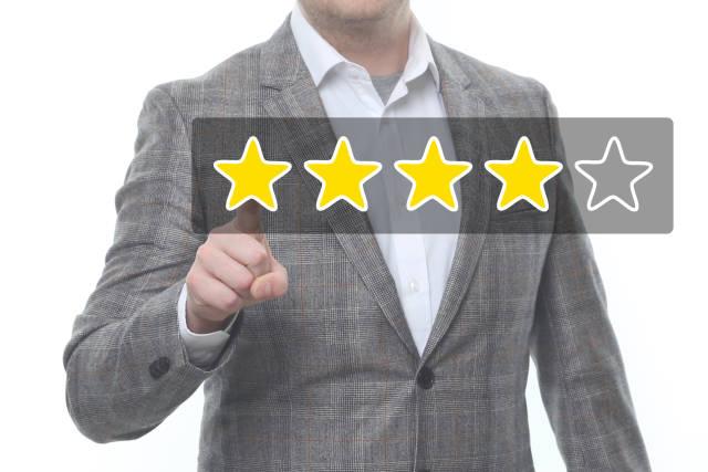 4-Sterne-Bewertung