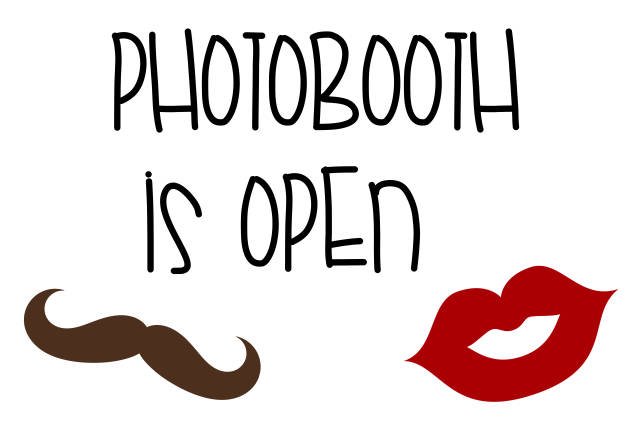 Photobooth is open