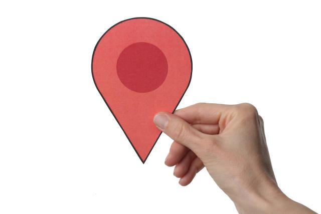 Standort Markierung
