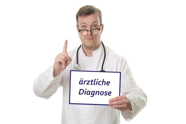 Ärztliche Diagnose