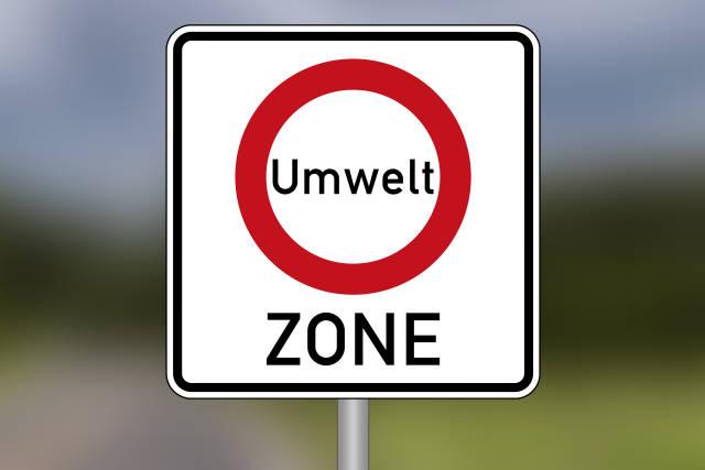 Verkehrszeichen Umweltzone