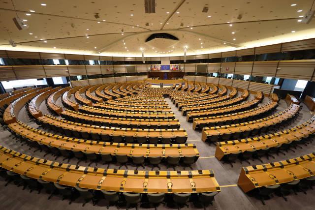 Plenarsaal Europäisches Parlament