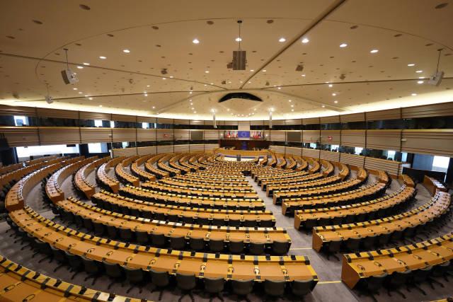 Plenarsaal der Europäischen Union