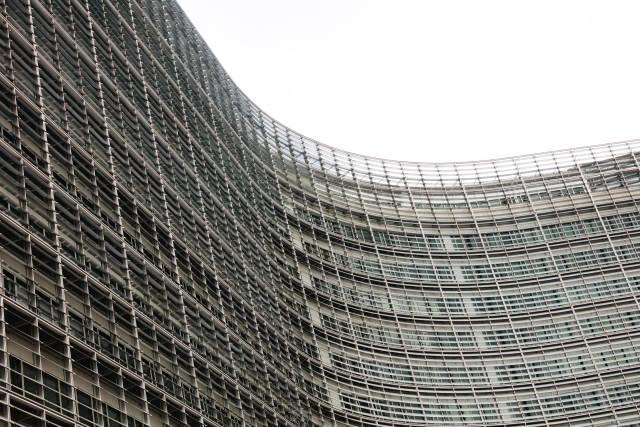 Fassade der Europäischen Kommission