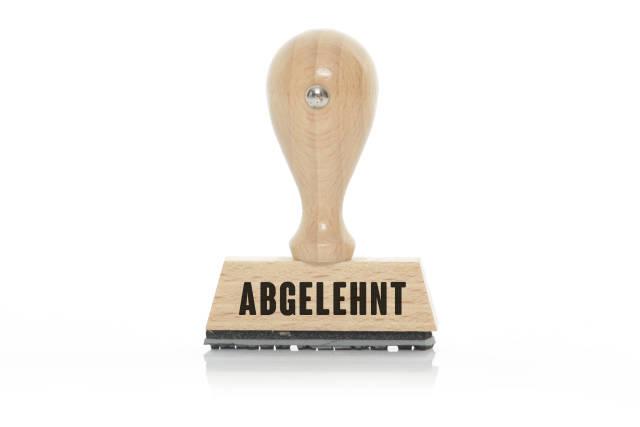 Stempel ABGELEHNT