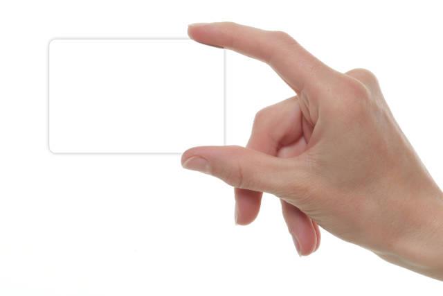 Karte blanko