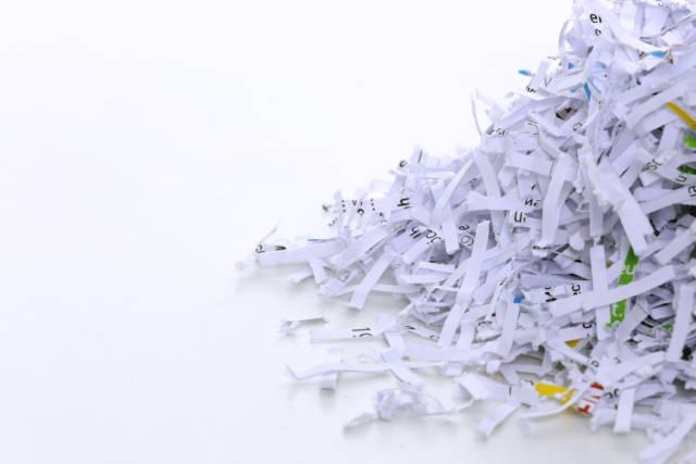 Geschreddertes  Papier