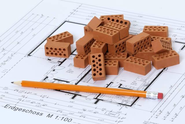 Bauplan Erdgeschoss
