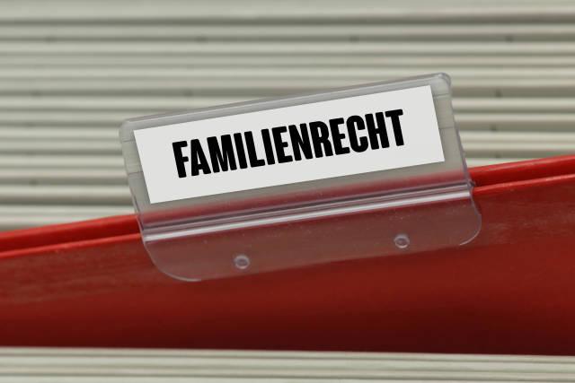 Hängeregister FAMILIENRECHT