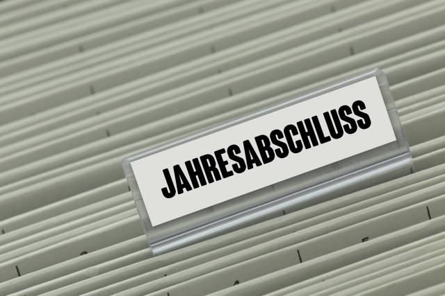 Hängeregister JAHRESABSCHLUSS