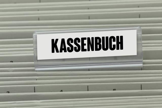 Hängeregister KASSENBUCH