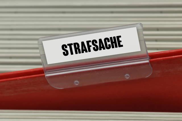 Hängeregister STRAFSACHE