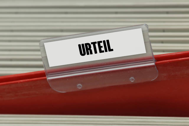 Hängeregister URTEIL